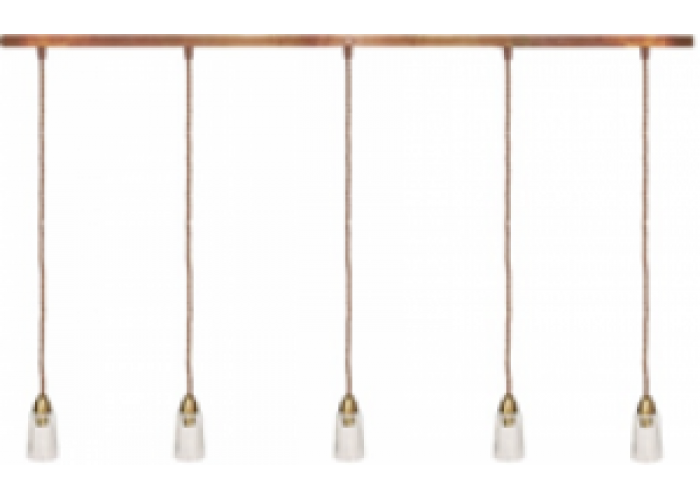 "Осн. подвесного потолочного светильника ""Гусевъ №145"" Е14*5, L-2000мм"
