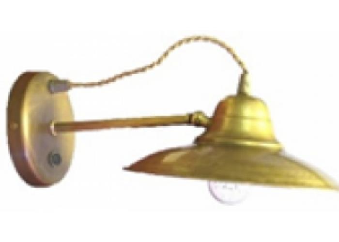 """Бра """"Гусевъ №14"""" (мет. патрон), Е-14 L=305мм, H=135мм"""
