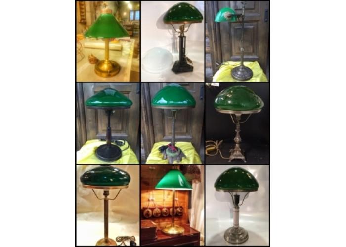 Подбор лампы с зелёным стеклом!