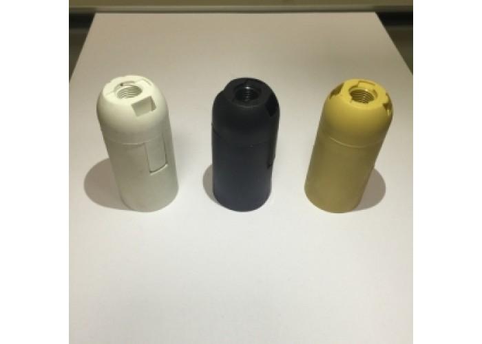 Патрон пластиковый, без резьбы Е14