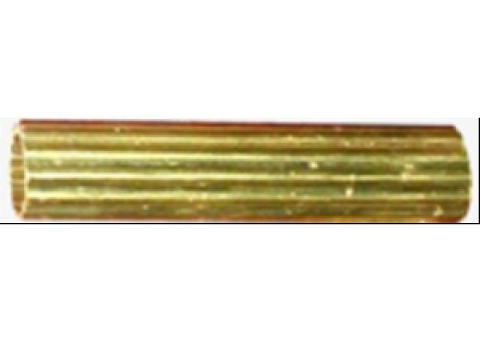 Трубка латунная L=3m, d30x1 mm. (широкая полоса)