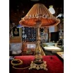 Антикварные настольные лампы